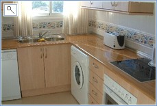 FULLY FITTED SEPARATE KITCHEN WITH ALL APPLIANCES / UTENSILS
