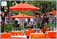 Orange Square in Marbella Old Town