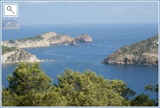 one of the many views you can find near to the villa