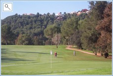 One of the local golf courses at La Sella