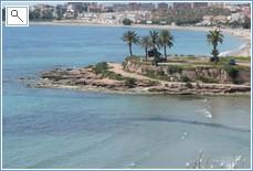 Beautiful bays of Puerto de Mazarron