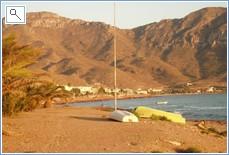 One of Many Blue flag beaches, neighbouring La Azohia