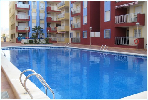 Your Large Swimming Pool with Childrens area too.