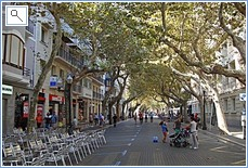 Denia High street