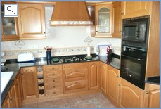 Kitchen,hob,microwave,oven, dishwasher, fridge/freezer