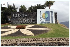 Costa Adeje Roundabout at complex