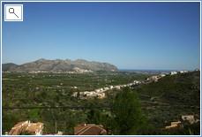 Montesano on the Segaria in the distance