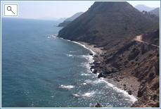 coastal scene a Cabo de Gato national park