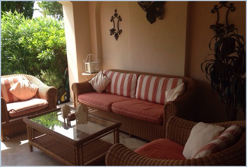 Outside Lounge on Private Terrace