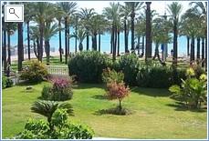 The Garden Overlooking the Beach