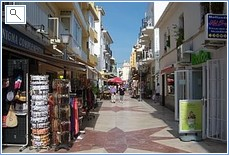 Shopping Street of the Carihuela