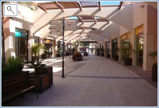 One of the walks with shops each side
