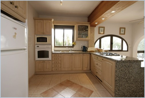 Kitchen taken from the Stairs to Bedroom 1