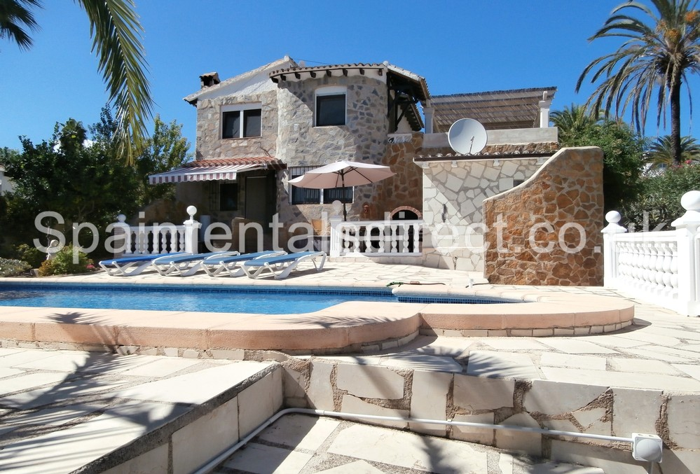 Superb Moraira Rental Villa ...