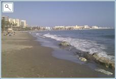Beach in October