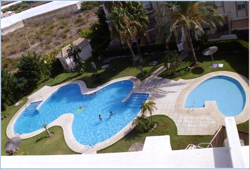 Aerial View of Pool's
