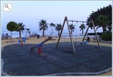 Children's Playground - next to beach - across the road