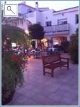 Bellaluz square in the evening