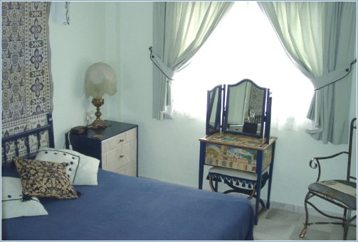 Master Bedroom - well away from the noise of the pools