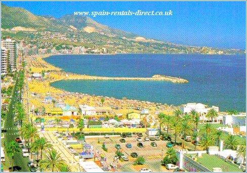Beside Fuengirola beach and Port.