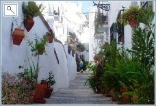 Typical Frigiliana Street