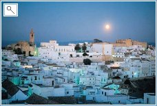 Vejer de la Frontera by Night
