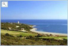 View from Alcaidesa Golf Resort