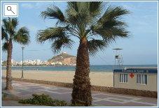 Aguilas Beach / Playa de Poniente
