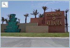 Condado de Alhama Entrance