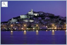 Ibiza Town by Night